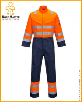Fire Resistant Coveralls With Reflective Tape For Mens